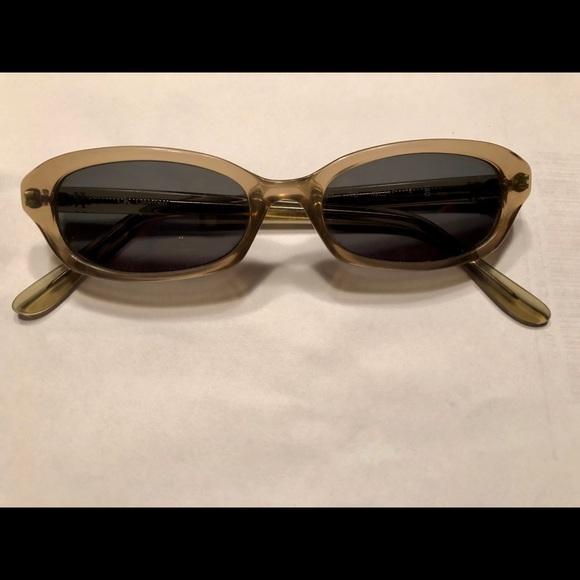 Calvin Polarized Sunglasses Klein Oval Small 6ybfY7g